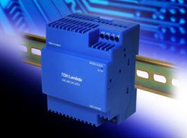 DRL100‑24-1/C2 – Low profile 88W DIN rail power supply