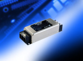 RSKN – Single phase 6 A to 30 A EMC filters provide attenuation across a wide frequency band