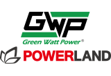 Green-Watt-Power-Powerland Logo